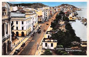 Guayaquil Ecuador, Republica del Ecuador Paseo de las Colonias Guayaquil Pase...