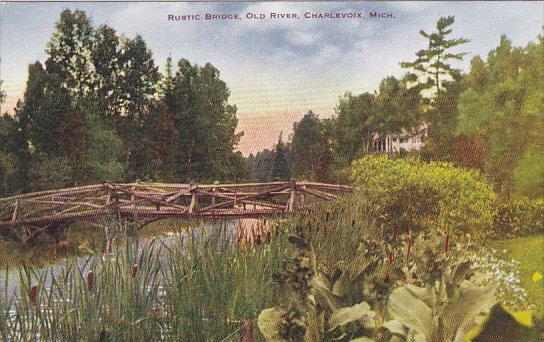 Michigan Charlevoix Rustic Old Bridge