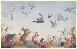 Fairy Fly Past, Artist Molly Brett Dressed Animal Unused