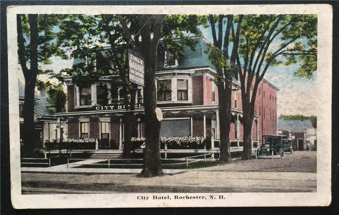 City Hotel, Rochester, N.H. 1925 James F. Snow