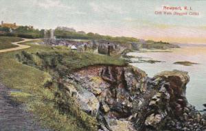 Rhode Island Newport Cliff Walk Ragged Cliffs