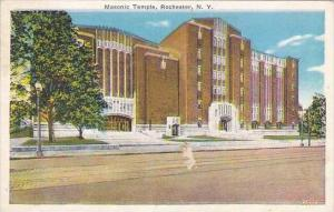 New York Rochester Masonic Temple 1939