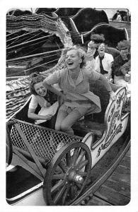 'October, Month of Fairs' riotous fun of Southend-on-Sea 1938 Nostalgia Reprint