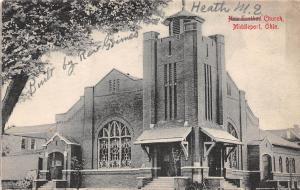 C6/ Middleport Ohio Postcard 1912 Heath M.E. Church Building