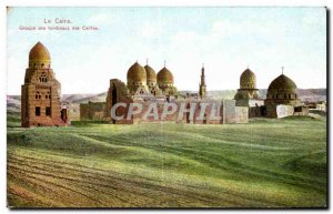Africa - Africa - Egypt - Egypt - Cairo - Cairo - Tombs Group - Old Postcard