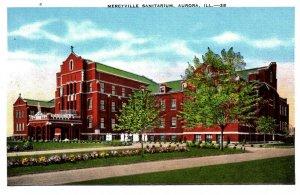 Aurora, Illinois - The Mercyville Sanitarium - c1920