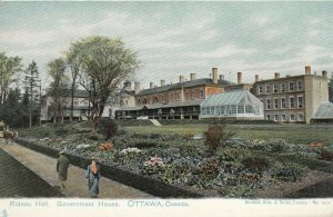 OTTAWA, Ontario, Canada, 1901-07; Rideau Hall, Government House, version 2