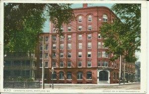 Lafayette Hotel, Portland, Me.
