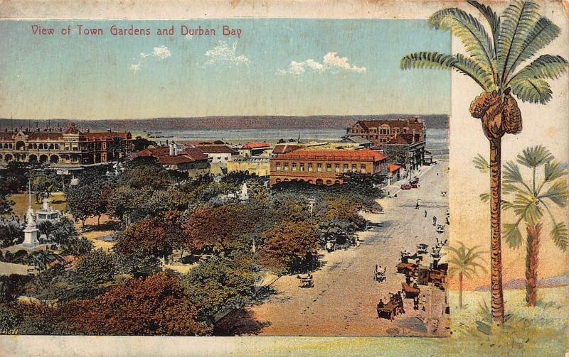 South Africa Durban Bay postcard