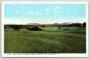 Asheville ND~Biltmore Forest Country Club~Golf Course~Fairway~Sand Traps~1920s