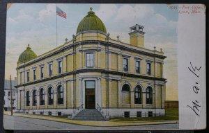 Lynn, MA - Post Office - 1907
