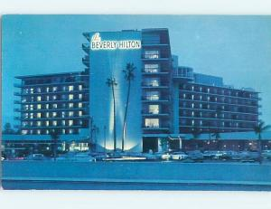 Unused Pre-1980 HILTON HOTEL Beverly Hills - Los Angeles California CA c0655
