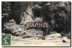 Postcard Old Versailles Apollo Cave