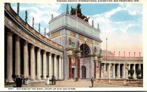 California San Francisco Panama-Pacific International Expo Nations Of The Wes...