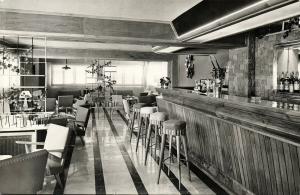 spain, PALMA DE MALLORCA, Balearic Islands, Gran Hotel Augusta (1950s) RPPC