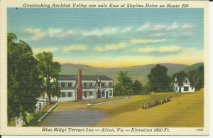 Afton, Va., Blue Ridge Terrace Inn