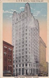 C.P.R. Building , Toronto , Ontario , Canada , 10-20s