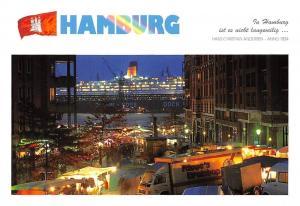 Hamburg Poetische Ansichten FIschmarkt Market Place