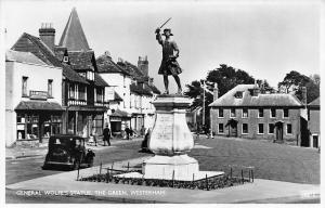 General Wolfe's Statue The Green Vintage Car Westerham