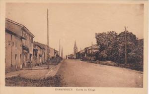 France Champenoux Entree du Village