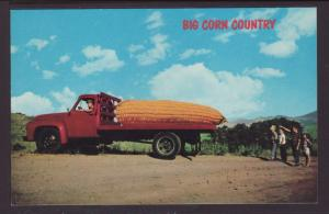 Big Corn Country,Exaggerated Corn on Truck
