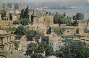 Postcard Azerbaijan BAKU palace complex Shirvan Shahs aerial view