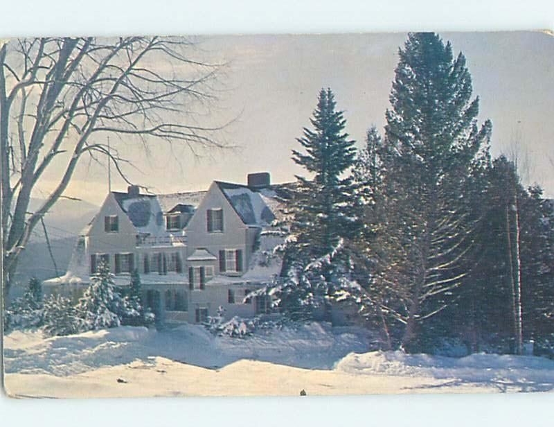 Pre-1980 INN SCENE Jefferson - Near Gorham & Littleton New Hampshire NH G8941
