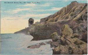 Foreign Postcard PUERTO RICO United States Territory c1910 SPANISH Sentry Box