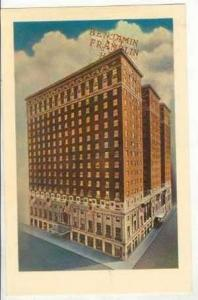 The Benjamin Franklin Hotel, Philadelphia, Pennsylvania, 40-60s