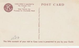 CASA LOMA , TORONTO, Ontario , 30-50s Tour Guide #3