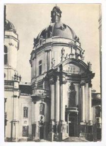 Dominican Roman-Catholic Church, LVIV, Ukraine, 1950s