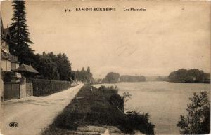 CPA SAMOIS-sur-SEINE - Les Platreries (638876)