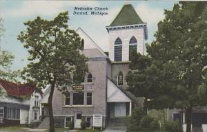 Michigan Durand Methodist Church