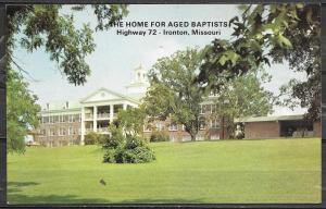 Missouri, Ironton, Home for Aged Baptists, unused