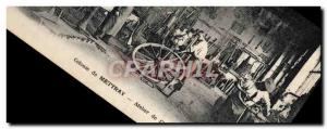 Old Postcard Colony of Mettray wheelwrights workshop