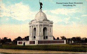 Pennsylvania Gettysburg Pennsylvania State Memorial 1913 Curteich
