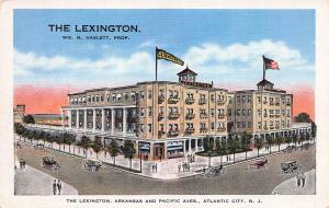 The Lexington Hotel, Atlantic City, New Jersey, Early Postcard, Unused