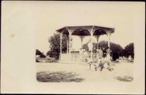 uruguay, FRAY BENTOS, Bandstand (1910s) RPPC