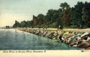 Lake Drive in Gordon Park - Cleveland, Ohio
