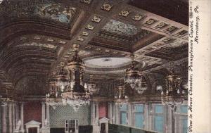 Pennsylvania Harrisburg View In House Chamber Pennsylvania Capitol