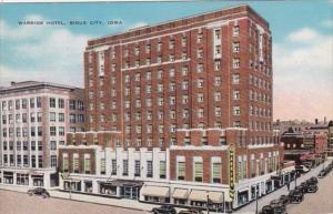 Iowa Sioux City The Warrior Hotel