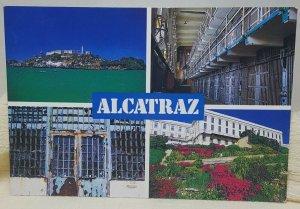 Alcatraz San Francisco California Vintage Postcard