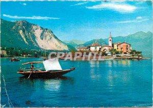 Modern Postcard Isola Pescatori (Lago Maggiore)
