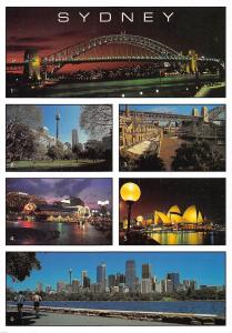Australia Sydney multiviews The Harbour Bridge The Historic Rocks Opera House