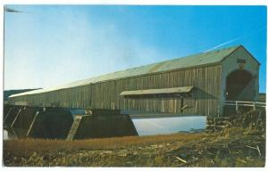The Upper Dorchester Covered Bridge, near Memramcook, New Brunswick, Canada