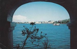 Bermuda Ferry boats, Hamilton Harbour, Bermuda, 40-60s