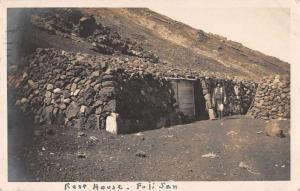 Kobe Japan Fuji San Rest House Real Photo Antique Postcard J65707