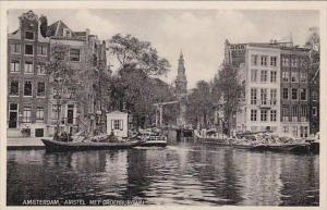 Netherlands Amsterdam Amstel met Groenburgwal