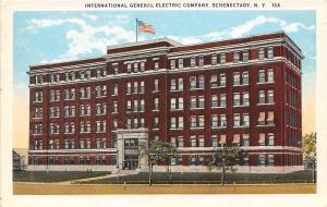 General Electric Co Schenectady New York 1920c postcard