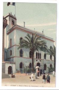 Palais d'Hiver du Gouverneur Algiers Vintage Postcard